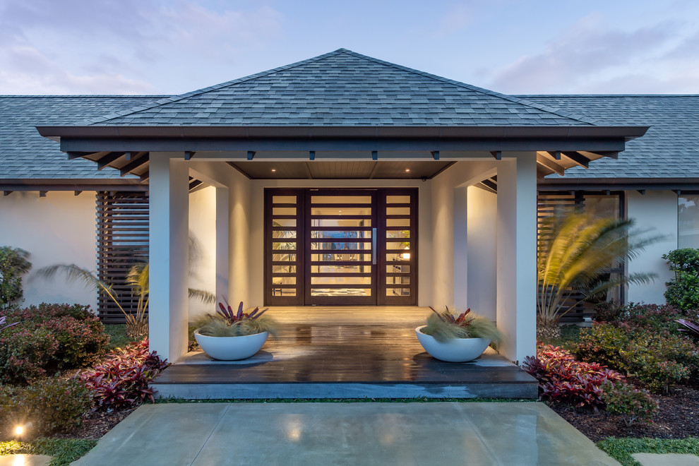 16 Amazing Tropical Entry Way Designs That Simply Invite You Over
