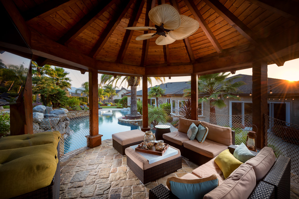 16 Awesome Tropical Patio Designs That Will Take Your Breath Away