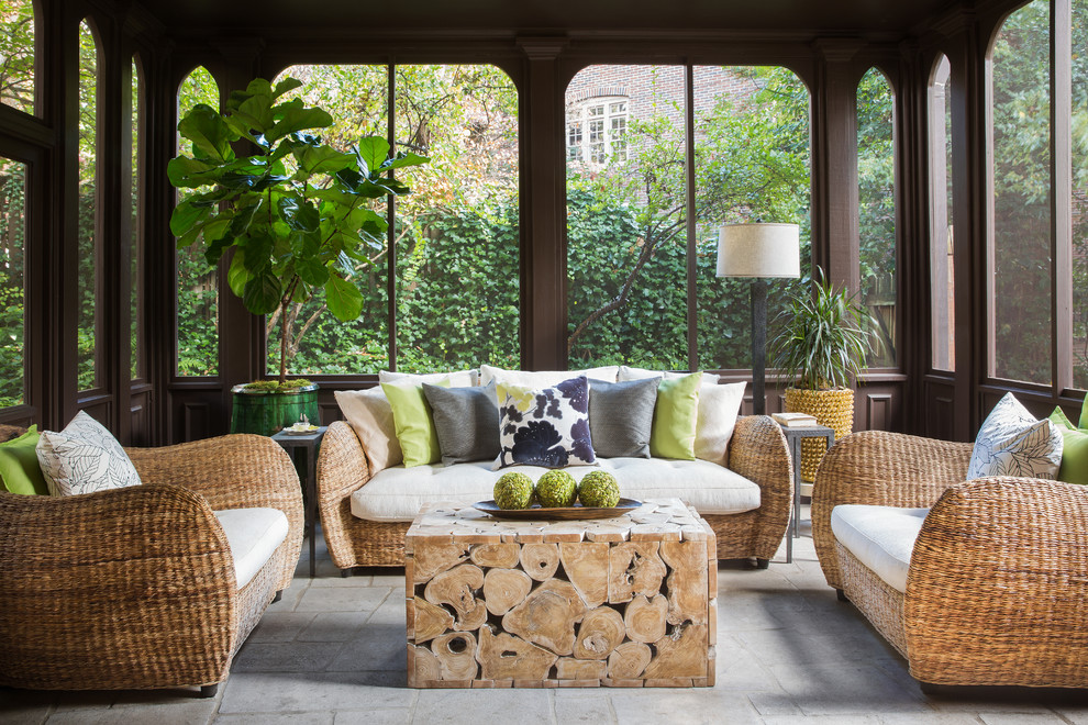 16 Striking Tropical Porch Designs Youll Fall In Love With