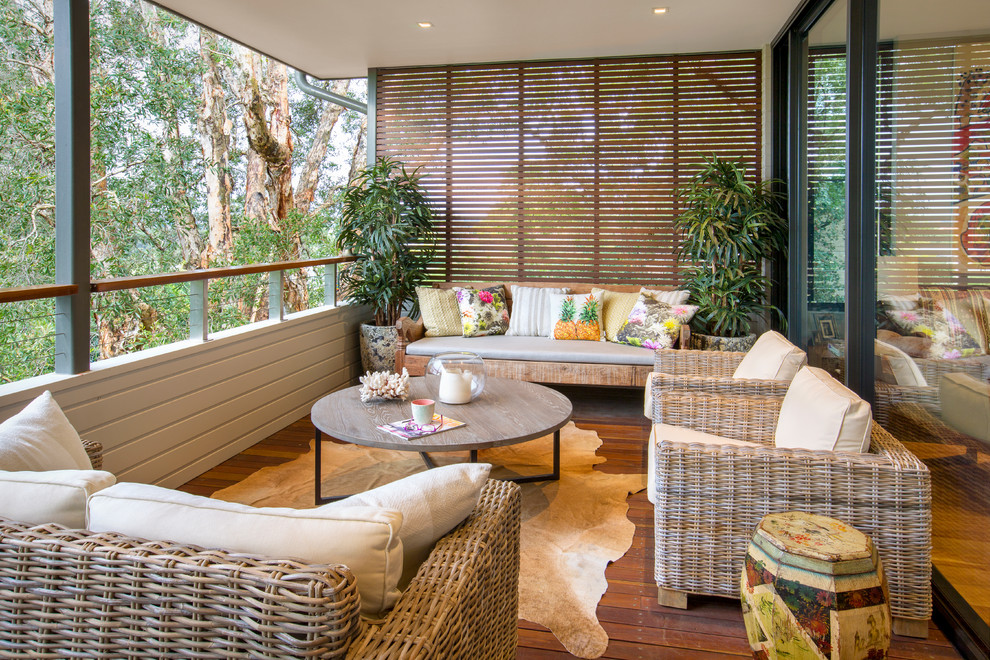 16 Striking Tropical Porch Designs You'll Fall In Love With