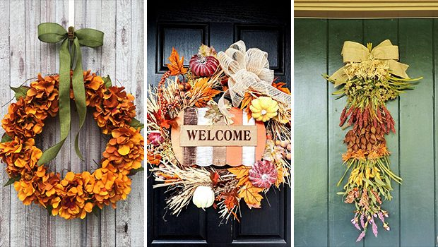 18 Inviting Natural Fall Wreath Designs To Refresh Your Decor This Season