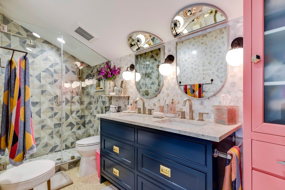 18 Mesmerizing Eclectic Bathroom Designs That Will Dazzle You