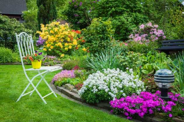 Smart Ideas For Decorating Garden In Drought Areas