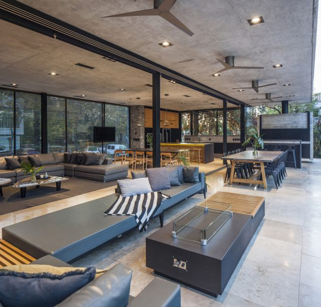 BT House by Estudio Jorgelina Tortorici in Adrogue, Argentina