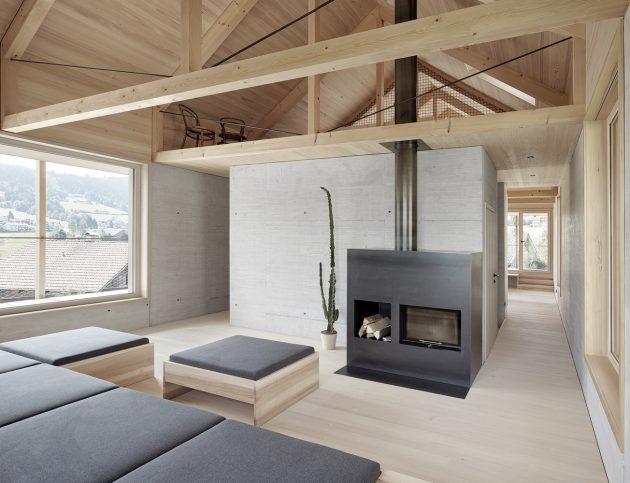 Höller House by Innauer-Matt Architekten in Alberschwende, Austira