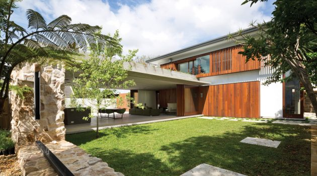 Hunters Hill House by Arkhefield in Sydney, Australia