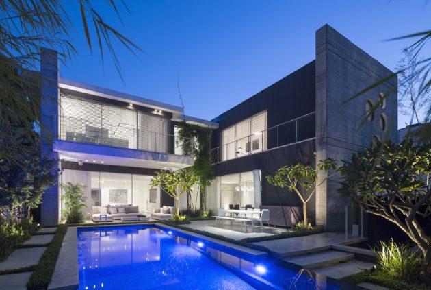 N16 by Havkin Architects in Ramat Hasharon, Israel
