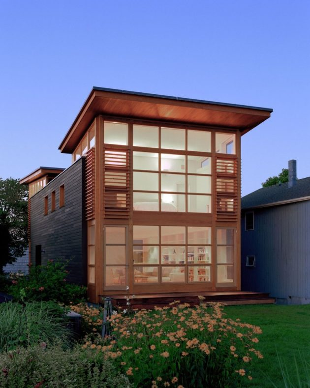 Sound House by Roger Ferris + Partners in Fairfield, Connecticut