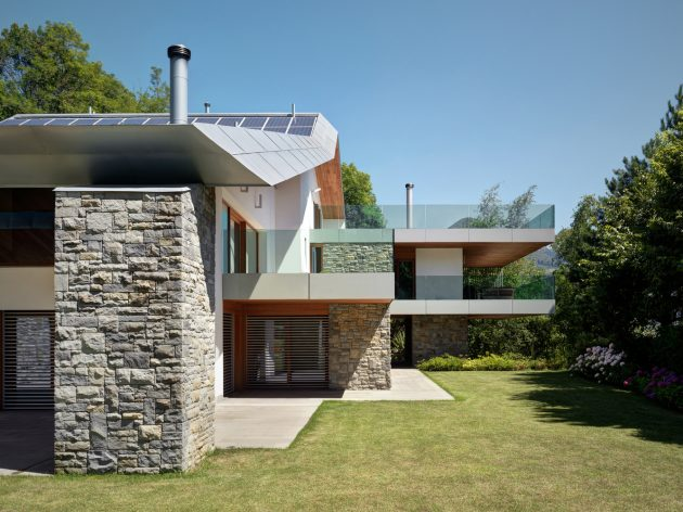 Villa Carber by Buratti Architetti in Cazzano SantAndrea, Italy