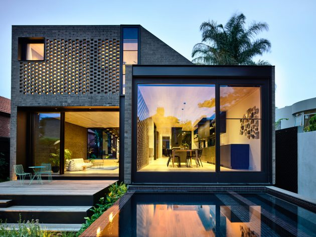York Street Residence by Jackson Clements Burrows Architects in Melbourne