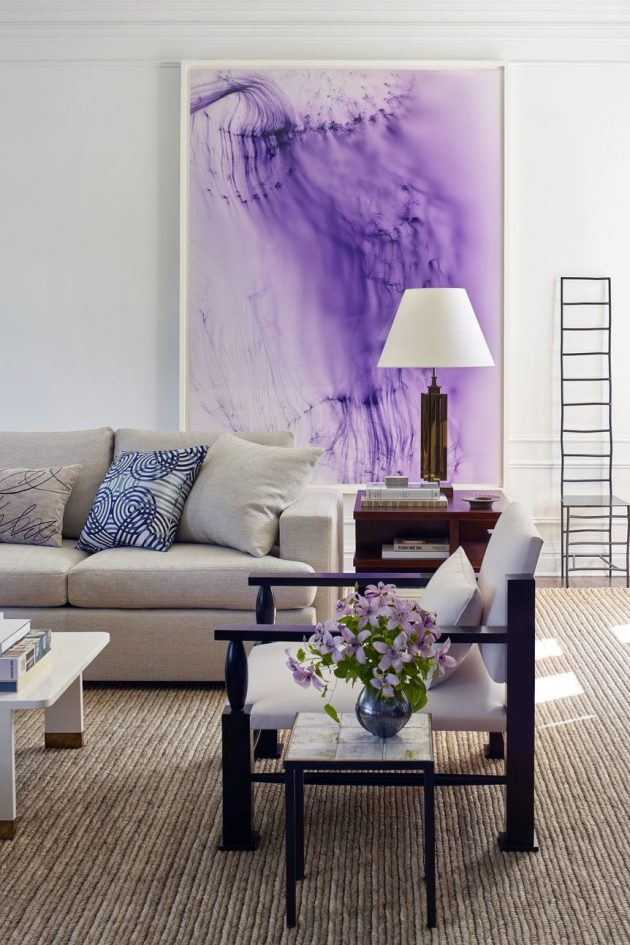 8 Artfully Designed Rooms with Large Scale Photography