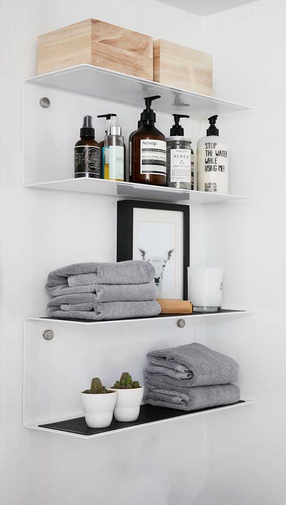 Inspiring Ideas of Bathroom Shelves and Decorating Tips to Improve Your Bathroom