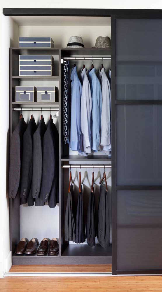 10 Room Men's Closet Photos that will Inspire You on How to Organize and Assemble Yours