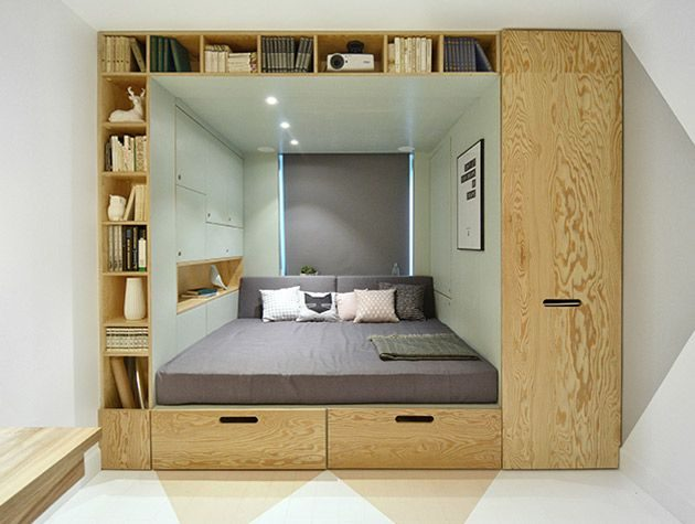 10 Friendly Solutions For Extra Storage In The Small Bedrooms