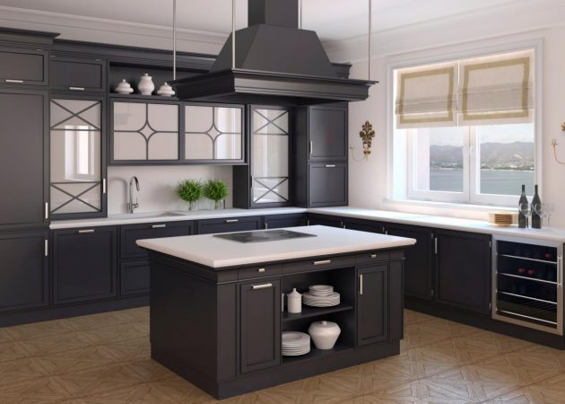 16 Timeless Black Kitchen Designs That Are Worth Seeing
