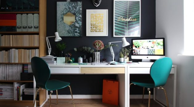 15 Beautiful Eclectic Home Office Designs You'd Want To Do Work In