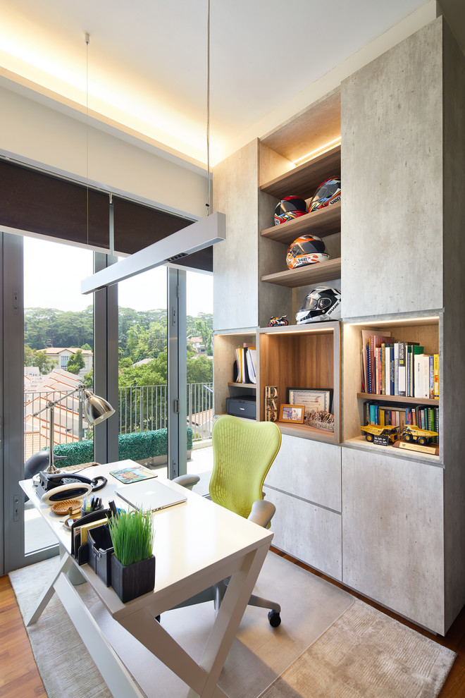 15 Beautiful Eclectic Home Office Designs Youd Want To Do Work In