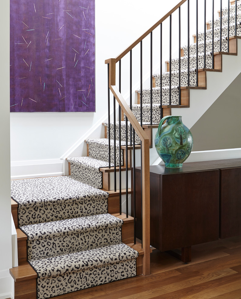 15 Dazzling Eclectic Staircase Designs That Bring Color To The Home