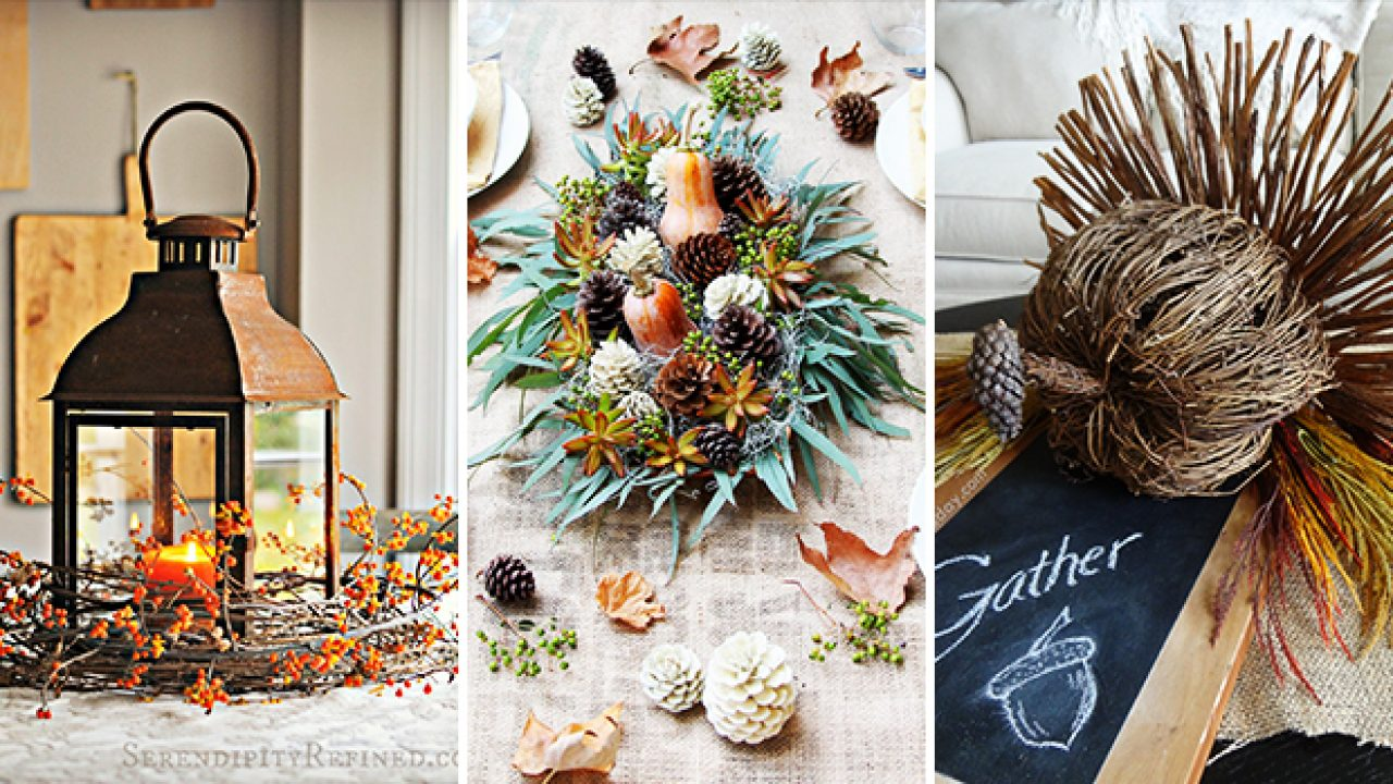 15 Simply Perfect Diy Thanksgiving Centerpiece Ideas For Your Table Decor