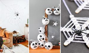 15 Spooky Last Minute DIY Halloween Decorations