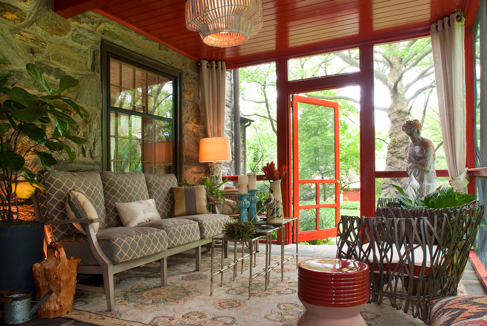 16 Awesome Eclectic Porch Designs Perfect For Your Morning Coffee