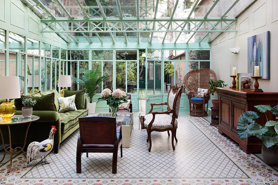 16 Brilliant Eclectic Sunroom Interiors Perfect For The Fall Season