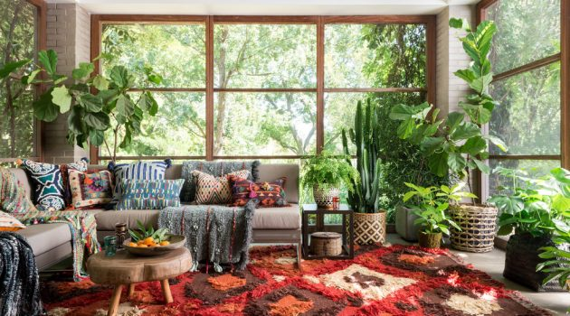 16 Brilliant Eclectic Sunroom Interiors Perfect For The Fall Season