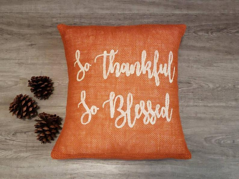 16 Fantastic Handmade Thanksgiving Pillow Designs Your