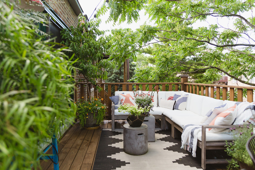 16 Lovely Eclectic Deck Designs You Will Simply Adore