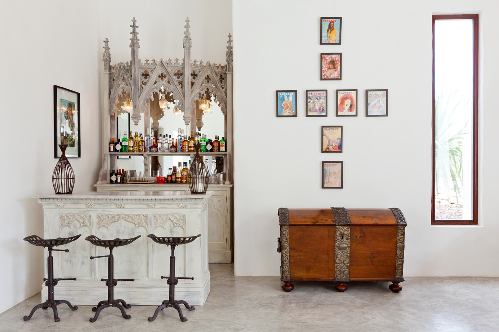 17 Stylishly Classy Eclectic Home Bar Designs You Need