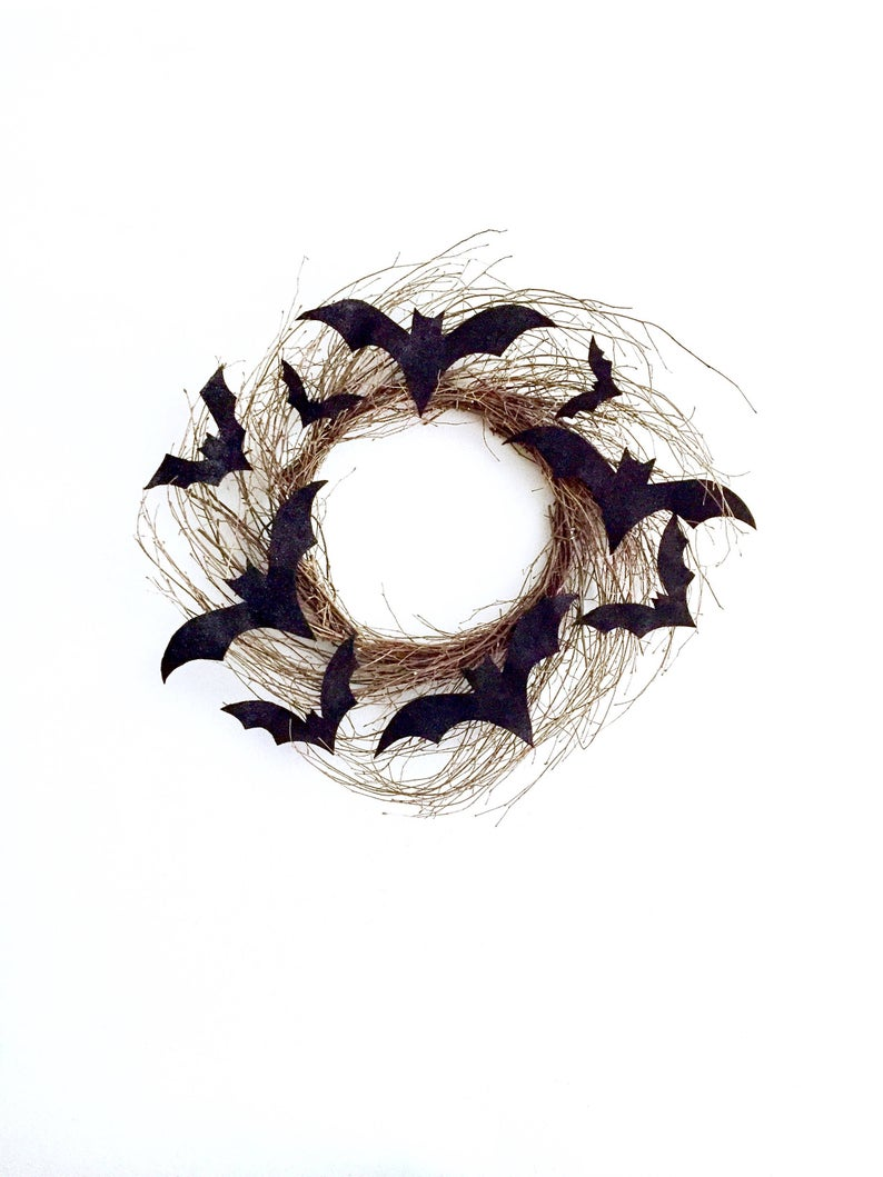 18 Crazy Cool Handmade Halloween Wreath Ideas Youll Love
