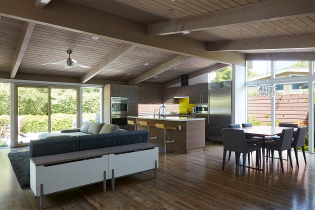 Brown and Kaufman Remodel by Klopf Architecture in Palo Alto