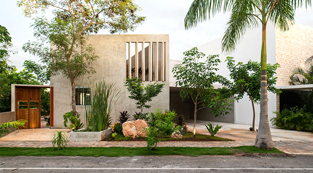 Lake House by TACO taller de arquitectura contextual in Merida, Mexico
