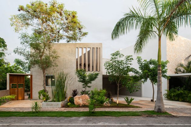 Lake House by TACO taller de arquitectura contextual in Merida, Mexico