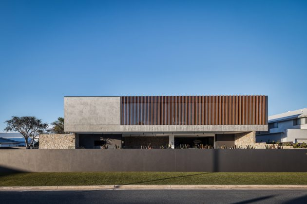 McDonald Residence by Jayson Pate Design in Kingscliff, Australia