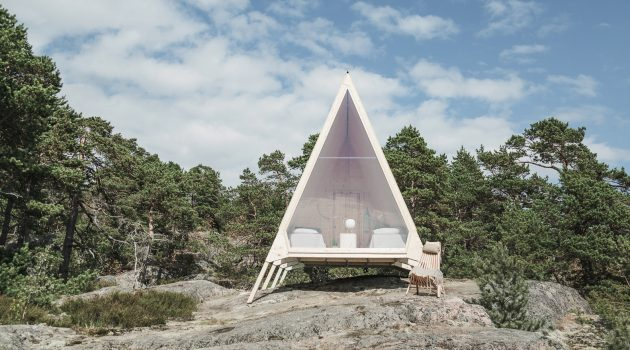 Nolla Cabin by Studio Mr. Falck in Vallisaari, Finland
