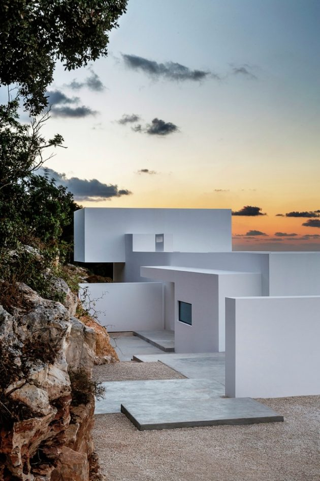 Silver House by Olivier Dwek Architectures in Zakynthos, Greece