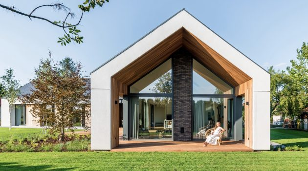 Star House by Z3Z Architects in Bielawa, Poland