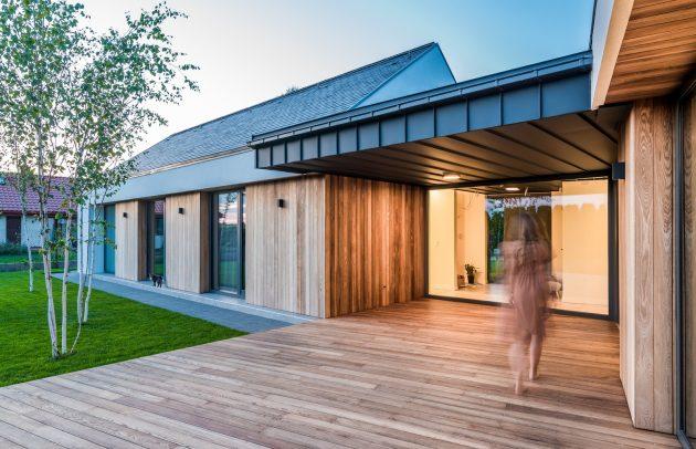 Star House by Z3Z Architects in Bielawa, Poland