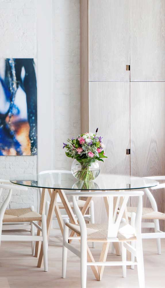 Glass Dining Table Ideas That Will Make You Fall in Love on First Sight