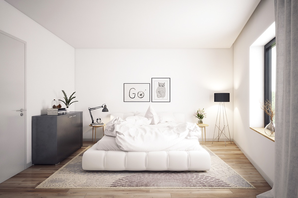 15 Really Fascinating White Bedroom Ideas That Are Worth ...
