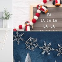 15 Cute Winter Garland Designs To Prepare For The Season