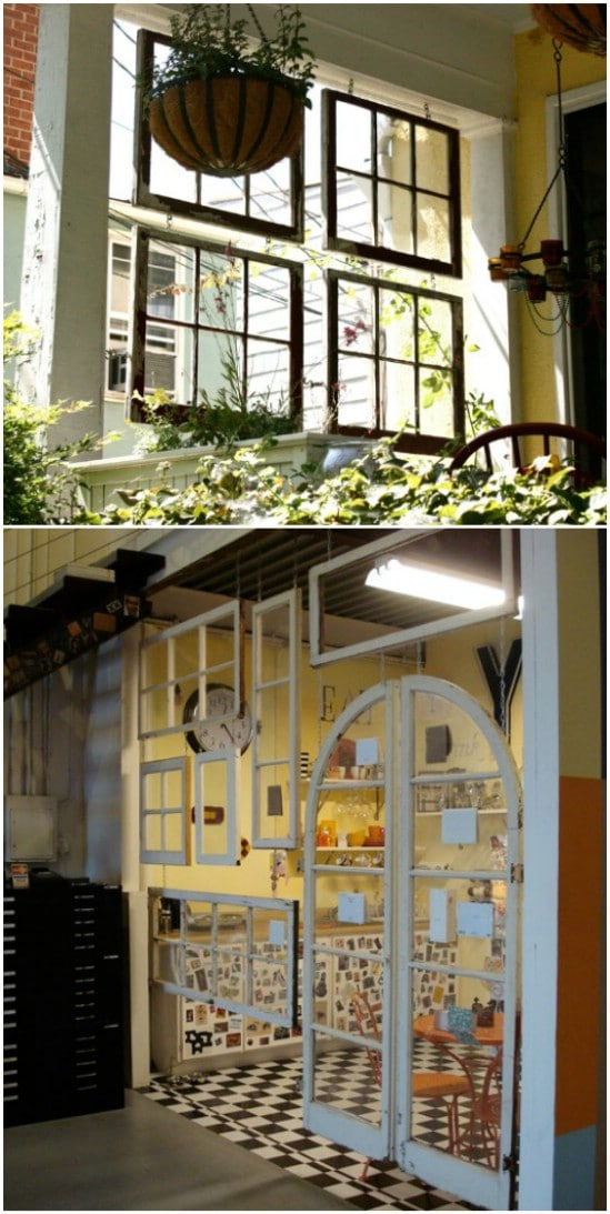 15 Impressive DIY Projects To Repurpose Your Old Windows