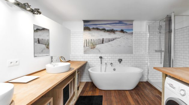 16 Beautiful Scandinavian Bathroom Designs You're Gonna Love