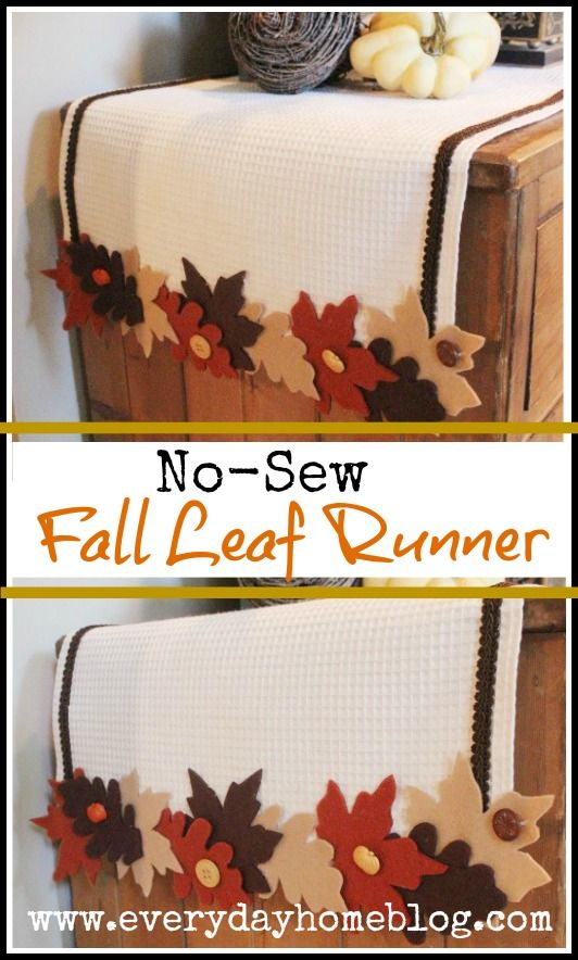 16 Charming DIY Thanksgiving Placemat and Table Runner Ideas