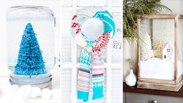 17 Sparkling DIY Winter Decor Ideas You'll Enjoy Crafting