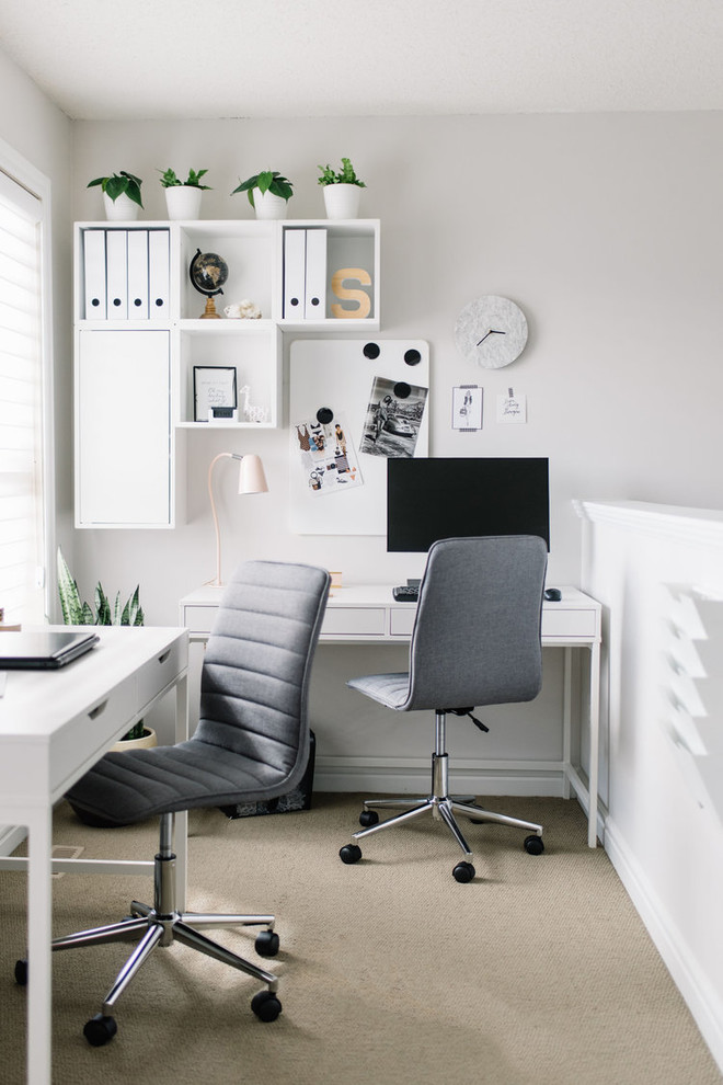 18 Brilliant Scandinavian Home Office Designs Youd Wish You Worked In