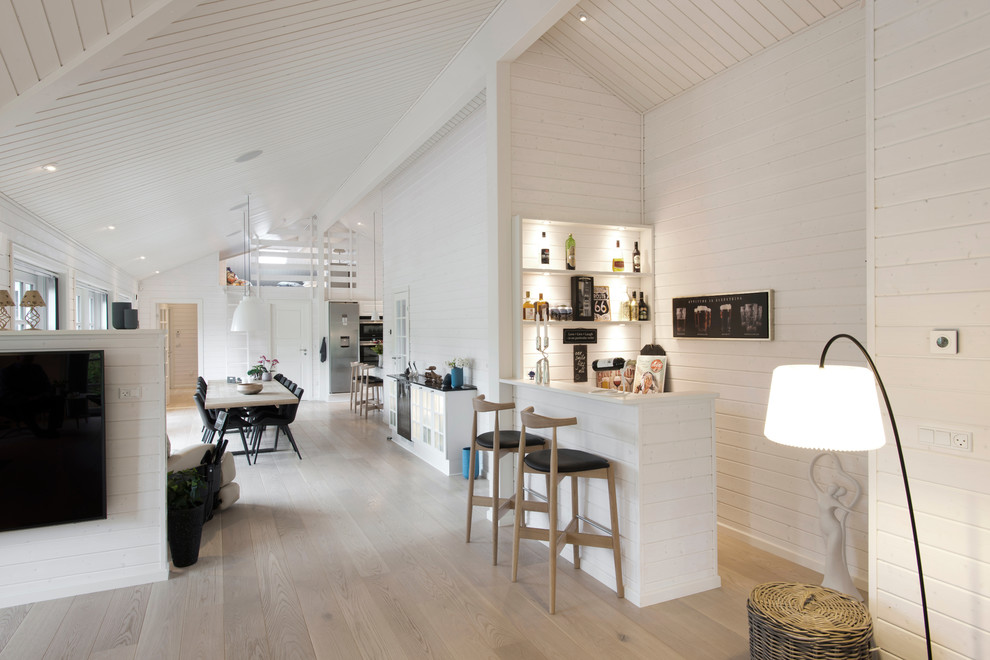 18 Refined Scandinavian Home Bar Designs Perfect For Any Space