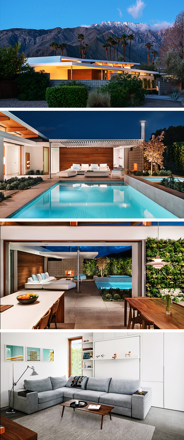 Axiom Desert House by Turkel Design in Palm Springs