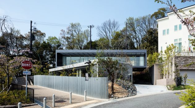 Axis House by T-Square Design Associates in Kobe, Japan